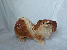 More details for vintage pekingese dog melba figure/ figurine