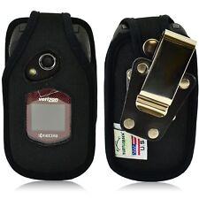 Turtleback Kyocera DuraXV DuraXA Flip Phone Nylon Fitted Case Metal Belt Clip