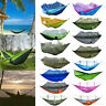 Portable Outdoor Camping Hanging Hammock Bed Mosquito Net Set Sleeping Swing Mat