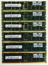 24GB (6x4GB)  DELL Precision R5500 T5500 T7500  PC3-10600R  DDR3 1333MHz ECC