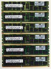 24GB (6x4GB) DELL Precision R5500 T5500 T7500 PC3-10600R DDR3 1333MHz ECC