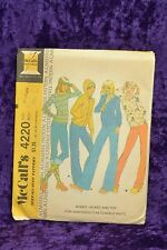 VTG 1970's Sewing Pattern JACKET & TOP, Size 14 16, McCalls 4220 UNCUT