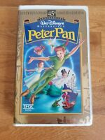 Peter Pan (VHS) Walt Disney 45th Anniv. Limited Edition VHS Clamshell Case