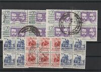 Mexico Used Blocks Stamps Ref 23820