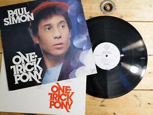 PAUL SIMON ONE TRICK PONY LP 33T VINYLE EX COVER EX ORIGINAL 1980