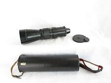 Für M42 Pentacon 5.6/500 MC Objektiv lens 19 blades + caps und case