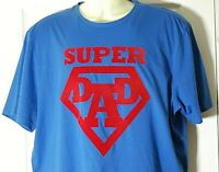 New Mens M&S Blue Short Sleeved Casual T-shirt Top 100% Cotton Size X-Large
