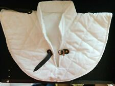 Medieval Strips Collar Gambeson theater costume Thick Padded cotton