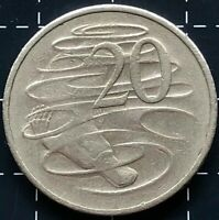 1981 AUSTRALIAN 20 CENT COIN 3.5 CLAW VARIETY