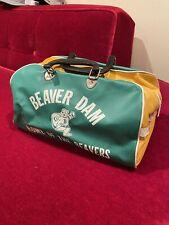 Vintage Late 1970's Athletic Bag Beaver Dam High School Wisconsin