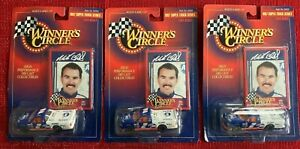 Lot of 3 Winners Circle Mike Bliss 1997 Super Truck Series 1:64 Scale Nascar