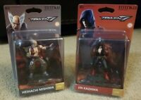 Tekken 7 Totaku Lot 2 Heihachi Mishima and Jin Kazama Figure Brand New Sealed