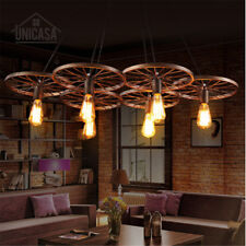 Large Chandelier Lighting Vintage Pendant Light Kitchen Lamp Bar Ceiling Lights