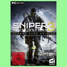 Sniper Ghost Warrior 3 III Season Pass Edition Spiel Key - Steam PC Code [DE]