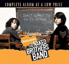 FREE US SHIP. on ANY 2 CDs! NEW CD The Naked Brothers Band: I Don't Want To Go T