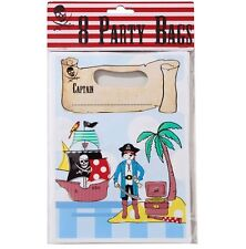 Pirate Ship Treasure Island Map Design Party Favour Loot Birthday Bags Set of 16