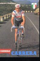 FRANCESCO ROSSIGNOLI cyclisme ciclismo Signée CARRERA autografo ciclista cycling