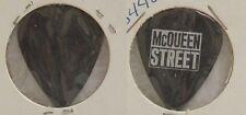 McQUEEN STREET - OLD CONCERT TOUR GUITAR PICK