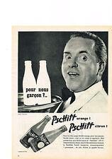 PUBLICITE ADVERTISING   1957   PSCHITT  orange soda