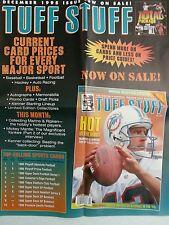 "DAN MARINO      TUFF STUFF    DECEMBER 1995 ""PROMO ADVERTISING POSTER"""