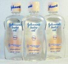 3 Johnson's Baby Oil Mildness Clinicaly Proven 10X Moisture