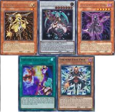 Yugioh Fortune Lady 2019 Deck - Every  - Dark - Light - Earth - Wind - 55 Cards