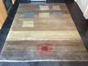 TIBETAN 2M. x 1.5M., THICK, NEW,  HAND-KNOTTED,  FINE PURE WOOL... FREE DELIVERY