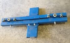 Material Handling Trolley Blue Pulley System  #6177
