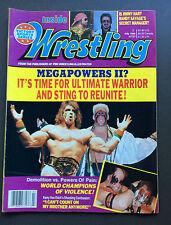 INSIDE WRESTLING MAGAZINE July 1989 Ultimate Warrior & Sting Cover WWF Rare