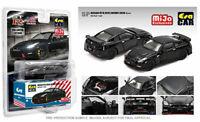 ERA CAR ESPMJ001 2020 NISSAN SKYLINE GT-R R35 NISMO DIECAST MODEL BLACK 1/64