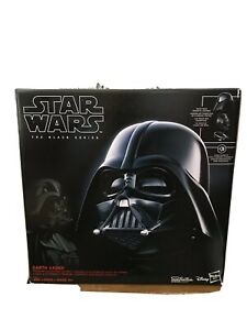 STAR WARS THE BLACK SERIES DARTH VADER ELECTRONIC HELMET. New With Free Shipping