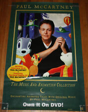 2003 Paul McCartney The Music and Animation Collection DVD 40x26 Poster