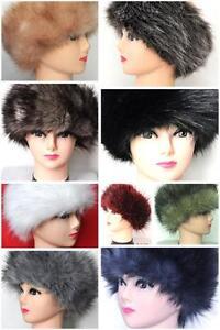Headband Ski Earwamer PRMIUM Faux Fur Beautiful Colours NEW