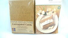 Corrugated CARDS & BOXES Paper Reflections NEW SEALED