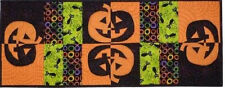 New Placemat and Table Runner Pattern  JACK-O-LANTERNS and BLACK CATS