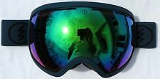 NEW $180 Electric EG2 Mens Winter Snow Green Blue Goggles Green Mirror Spy Lens