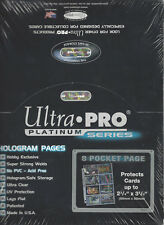 100 ULTRA PRO PLATINUM 8-POCKET Pages Brand New in Box