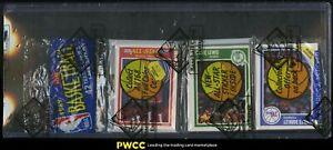 1989 Fleer BBall Rack Pack, 3ct Packs, Michael Jordan Sticker Back, BBCE Auth