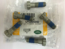 Genuine Land Rover Defender Front Axle Swivel Housing Bolts UYG500050