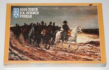 """F.X. Schmid """"Napoleon On Campaign"""" Jigsaw Puzzle, 2000 pieces NEW IN SHRINK"""