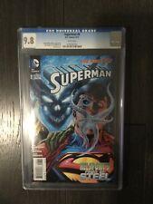 SUPERMAN #8 / The new 52! / CGC Universal 9.8 / June 2012