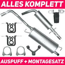 Auspuff VW Golf IV Beetle 9C Seat Leon 1M 1.4i 16V 1390ccm 55kW Schalldämpferset