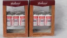 Budweiser Lager Beer 6 pack Ornaments by Kurt S. Alder