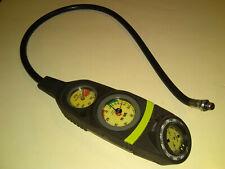 Suunto Sm-26 Sm-16 Depth Pressure Gauge Compass with Hose Scuba Diving Snorkel