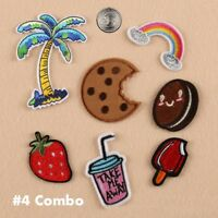 New Embroidered Iron On/ Sew On PATCH Lot Craft DIY Badge Bag Fabric Applique #3