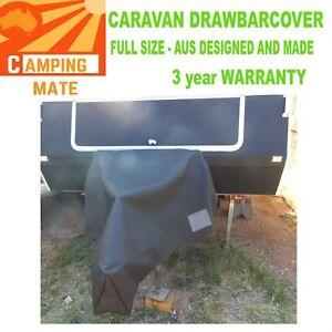 Caravan A frame full drawbar HITCH cover XLARGE PVC 750gsm VERY strong