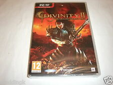 PC jeu DIVINITY II 2 The Dragon Knight Saga Brand New Factory Sealed