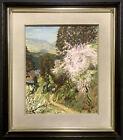 JAPANESE MODERN Oil Painting ~ KYOTO NARA LANDSCAPE ~ Kohei Sakami (1909–1989)