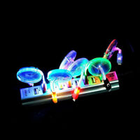 Night LED Charger Luminescent Visible Flow Charger Cable For Android_Phone