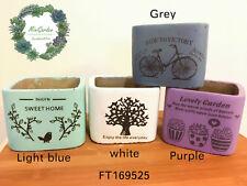 Sale!!!Fresh Design printed Concrete Succulent Pots